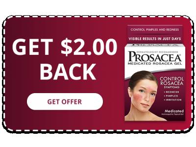 PROSACEA Medicated Rosacea Gel - Get $2.00 Back
