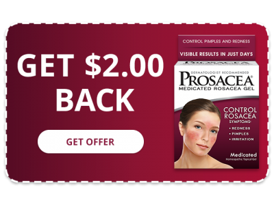 PROSACEA Medicated Rosacea Gel - Get $2.00 Back